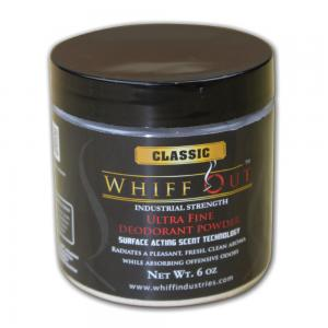 Whiff Out Ultra Fine Deodorant Powder - 6oz Jar